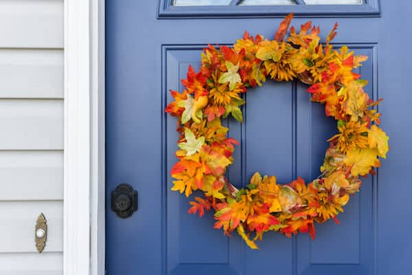 5 Creative Ways to Decorate Your Front Door for Fall